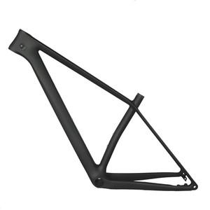 29ER boost 148 * 12mm Cadre de vélo de montagne en carbone FM199 MTB Cadre de vélo avec BB92, 29e * 2.35 pneu