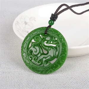 Hetian jade from Outer Mongolia imitates Cologne, Jasper, tallow, white jade, hollow jade pendant
