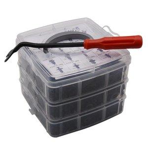 Altri strumenti di veicoli 620pcs / set Auto Auto Trim Trim Pitider Plastic Push Pin Bumper Fishener Rivetti