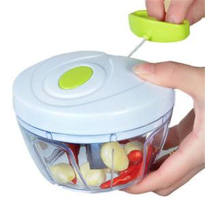 Mini Sebze Kesici İşlevli Yüksek Hızlı Tasarım Sebze Meyve Büküm Parçalayıcı Manuel Et Öğütücü Kıyıcı Sarımsak Kesici GWA3714