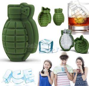 3D formato forma di ghiaccio cubo di ghiaccio stampo creativo gelato maker partito bevande silicone vassoi stampi cucina bar utensile da uomo regalo all'ingrosso cpa2736