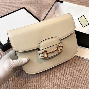 Classic Luxurys Designers Sacs Dame Fashion G 1955 Bandbody Sac Haute Qualité Sacs à main Sac en cuir 2021 Nouvelles Femmes Sacs à bandoulière Sac d'embrayage