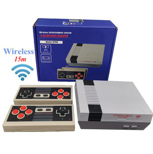 620 in 1 New 8 Bit 2.4G Wireless can store 620 Video Game Console Retro TV Console Box AV Output Dual Player Controller