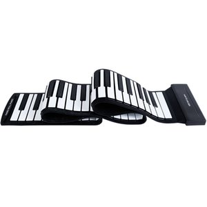 88 Keys Roll Up Piano Upgraded Portable Rechargeable Electronic Hand Roll Piano Portable Electronic Hand Roll Piano