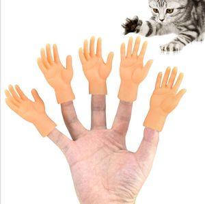 Hot-selling animal de estimação lambendo gato pequenos luvas pequenas berços de dedo pequenos Massagem de mão supplies berços de dedo