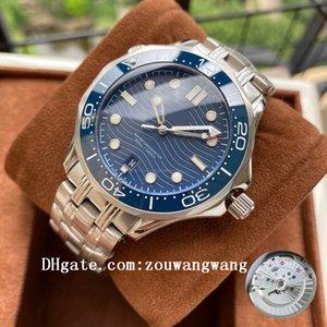 2021 Relojes de negocios de alta calidad de alta calidad 007 Terra Men Planet Sport Wristwatches Ocean James Bond Boss Master Mens Watch D1052