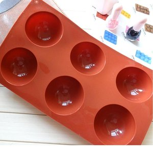 Bakery Chocolate Sweets Baky Jelly Bakeware Shape Shape Shape Baking Mousse Cake Moules Cake Outils Siltille Moulin Sile QYMMQT