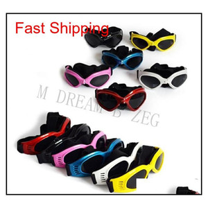 Folding Pet Glasses Dog Safety Goggles Windproof Sun-proof Sunglasses Protective Glasses Outdoor Eyeglasses Dog Deco jllEsp jhhome