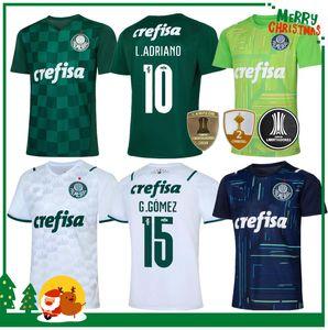 21 22 Palmeiras Soccer Jersey Home Green Dudu G.Jesus B. Henrique Alecsandro 2021 2022 Palmeiras Adult Homme Football Shirt