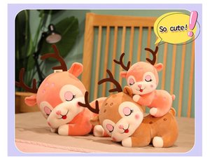 Christmas 20cm30cm40cm deer plush toy Elk doll Xmas party tossing small dolls event gift children gifts Stuffed Animals