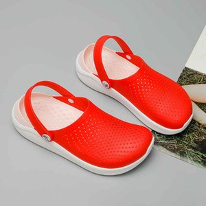 Sandals Women 2020 Beach Women's Summer Shoes Couple Croc Clogs Crocks Crocsed Water Footwear Female Slip-on Shoes Slippers X13 J2023
