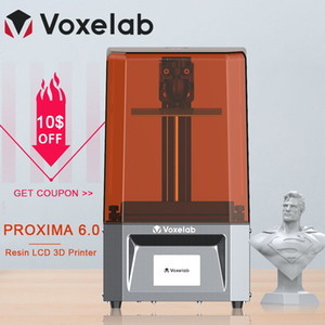 Voxelab Proxima 6.0 3D Printer High Precision UV Photocuring Resin 2k LCD DIY Kit With Fast Printing Speed Dropship
