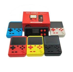 Мини портативный ретро портативные удваивает игровая консоль может хранить 400 игра 8 бит 3,0 дюйма ЖК-цвет цвет Цвет детский игровой игрок лучшие подарки для ребенка
