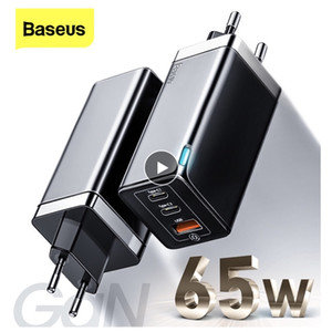 Baseus GaN2 Pro 65W USB C Charger Quick Charge 4.0 3.0 QC4.0 QC PD3.0 PD USB-C Type C Fast USB Charger For iPhone 12 Pro Max Samsung Macbook