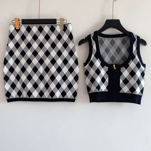 Women Sweater Suit Woman Tracksuit Cardigan set Two Pieces Sets Woman Sportswear Casual Outfit High Quality Designn Knitted Sweater Set-2