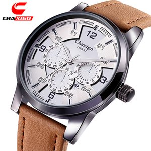 Hot Selling Casseg Chaxigo Watch Men's Multi Function Waterproof Calendar Sports