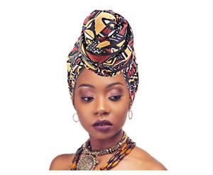 Muslim women turban hijab caps African pattern headscarf bonnet islamic scarf Turban bonnet ladies african wrap head scarves