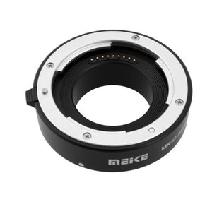 Lens Adapters & Mounts MEKE Meike -C-AF3A Metal Auto Focus AF Macro Extension Tube Set 10mm 16mm For EOS M Mount Micro DSLR Camera