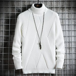 Style Spring Streetwear Japan Autumn Sweater Men Casual Harajuku Long sleeve Men's Clothing Turtelneck SweMPUK