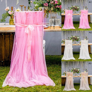 Wedding Banquet Chair Skirt Cover Long Wedding Event Party Supplies Hotel Banquet Dining Table And Chair Cover Decoration