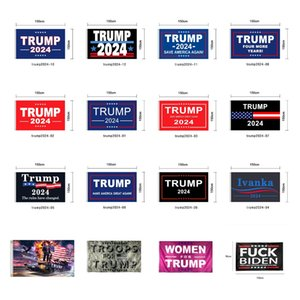 Trump Flag 2024 Election Flag Banner Donald Trump Flag Keep America Great Again 150*90cm 16 Styles Ivanka Trump Flags CYZ2982