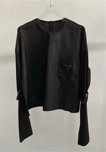 Frauen Hoodie Sweatshirts mit Dreieck Buchstaben Langärmeln Dame Tees mit Reißverschlüssen Rücken Anpassen Mode-Stil Hoodies Hot Tops