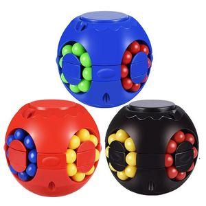 Magic Bean Cube Puzzle Kids Intelligence Jouets Cadeau Spinner Toys Toys Cadeaux Fidget Toy Spinner Spinning Top Stress Stress Stress Relever DHF5100