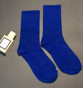Mulheres letra g meias respirável algodão meia mistura cor estilo de moda presente para amor de alta qualidade