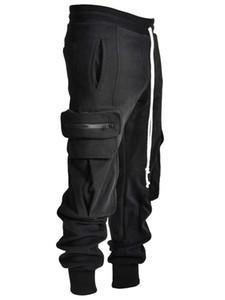 2021 Pantalones casuales de moda de nuevos hombres Ropa Deportiva Mujer Gimnasio Baggy Wide-Pierna Monos con un corset CN (Origin) 456