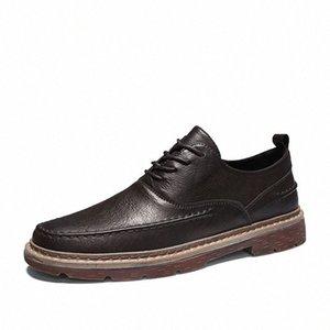 Англия зимняя кожаная мужская обувь Oxford повседневная классические кроссовки для мужской комфортабельной обуви Увеличение обувь * A3002 89bg #