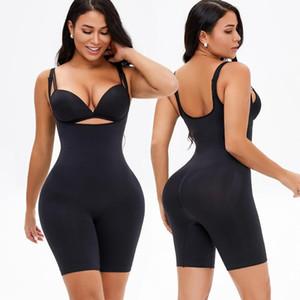 Женские формирователи женщин женские формирователи тела бесшовные нижнее белье боди для похудения бедро талию тренер по производству мозговой велосипедную сундук