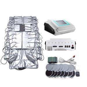 Profesyonel Masaj 3 1 EMS Makinesi Profesyonel Lenfatik Drenaj Masaj Makinesi EMS Kızılötesi Zayıflama Vücut Güzellik Salonu için Suit
