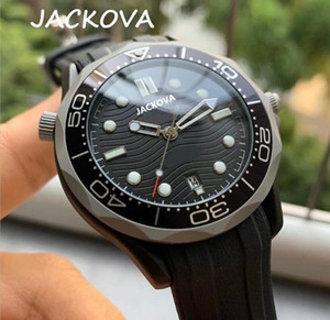 mens automatic mechanical watches 316L Steel Case 50M waterproof wristwatch montre de luxe men silicone watches