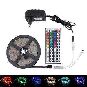 RGB 12V LED Strip Light Waterproof TV Backlight 5 - 20 M 2835 RGB LED Strip 12 V Light Full Set Adapter + Controller