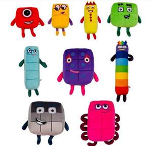 9 style 16-24cm new product Numberblocks plush toys children's mathematics enlightenment animation doll