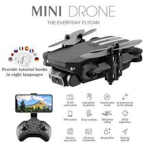 Drone 4k HD Camera Mini Drone WiFi Aerial Photography RC Helicopters Foldable Quadcopter Aircraft Dron Aircraft Kids Adult toys1