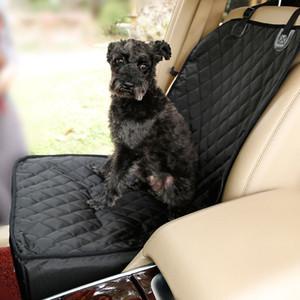 2-in-1 الأمامي المقعد للماء كلب السيارة غطاء مقعد السيارة المضادة للحلاقة الحيوانات الأليفة الداعم مقعد السيارة حامل مع حزام الأمان 24 S2