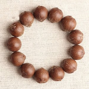 JoursNeige Rat Natural Bodhi Bracelets Buddha Beads King Kong Lucky Evil Spirits Three Eyes Bodhi Bracelet Japa Mala Jewelry