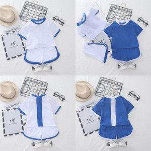 Summer Baby Boy Clothing Set Letters Printed Hooded Tops Pants Two-Piece Set Kids Leisure Clothes Boys Boys Girl Clothes Sets
