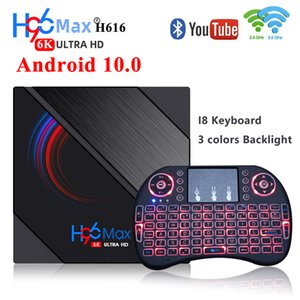 H96Max Android 10 Smart TV BOX Allwinner H616 TVBox 4GB 32GB 64GB 6K HD 5G WiFi BoxTv Youtube Media Player H96 MAX Set Top Box