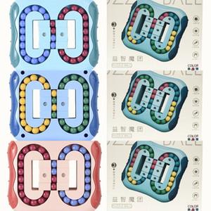 Rubik's cube Sensory Toys Fidget control toy stress relief toys magic bean toys for kids decompression cube toy creative 3color sale H34VBRH