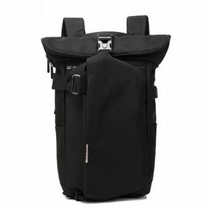 Men's leisure travel waterproof Backpack Laptop schoolbag leisure travel waterproof USB charging bag men's backpack
