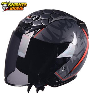 Motorcycle Helmet Summer Breathable Scooter Casco Moto Half Face Biker Motorbik Helmet With Removeable Linner For Men Women