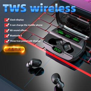 G6 TWS Bluetooth 5.1 Auricolari auricolari wireless impermeabile con microfono auricolare auricolare auricolare auricolare auricolare auricolare Bluetooth