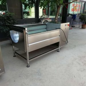 Automatic fruit and vegetable cleaning and peeling machine potato radish sweet potato shell pig hoof cleaner
