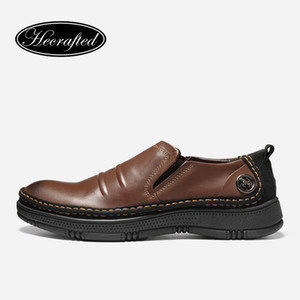 Taille 36 ~ 48 Cuir Flan Cuir Hommes Robe Chaussures Confortable Mode 2021 Chaussures Hommes Hommes Chaussures # ALA8357