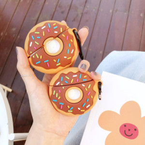 New Cute Donut Silicone Cover For Airpods pro Wireless Bluetooth Earphone Case Protective Cover Accessories For Airpods