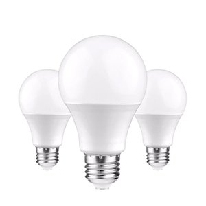 LED лампы лампы E27 Light Light 110V 220V Smart IC 3W 5W 7W 9W 12W 15W 18W 22W высокая яркость ламмада бомбарс