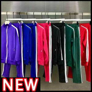 2021 Новые мужские женские трексуиты костюмы костюмы мужчины треки пот костюм пальто мужские дизайнеры куртки толстовки брюки кофты спортивные 21ss