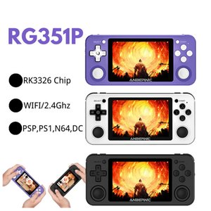 ANBERNIC R351P 3.5i nch IPS Handheld Retro Game Console RK3326 Open Source 3D Rocker 64G 5000 PS Neo MD Video Music Player DHL